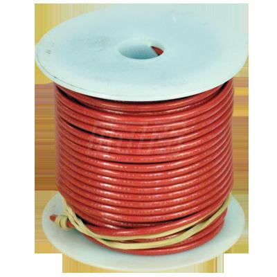 Stranded Copper Building Wire 12 Ga Red 100 Spool TFFN 600V - 84322